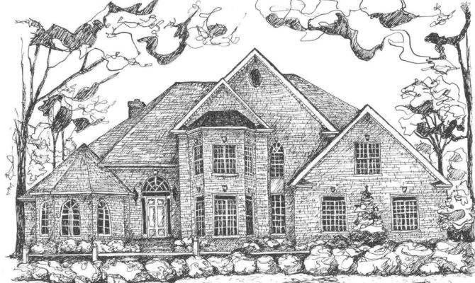 Draw House Jpeg