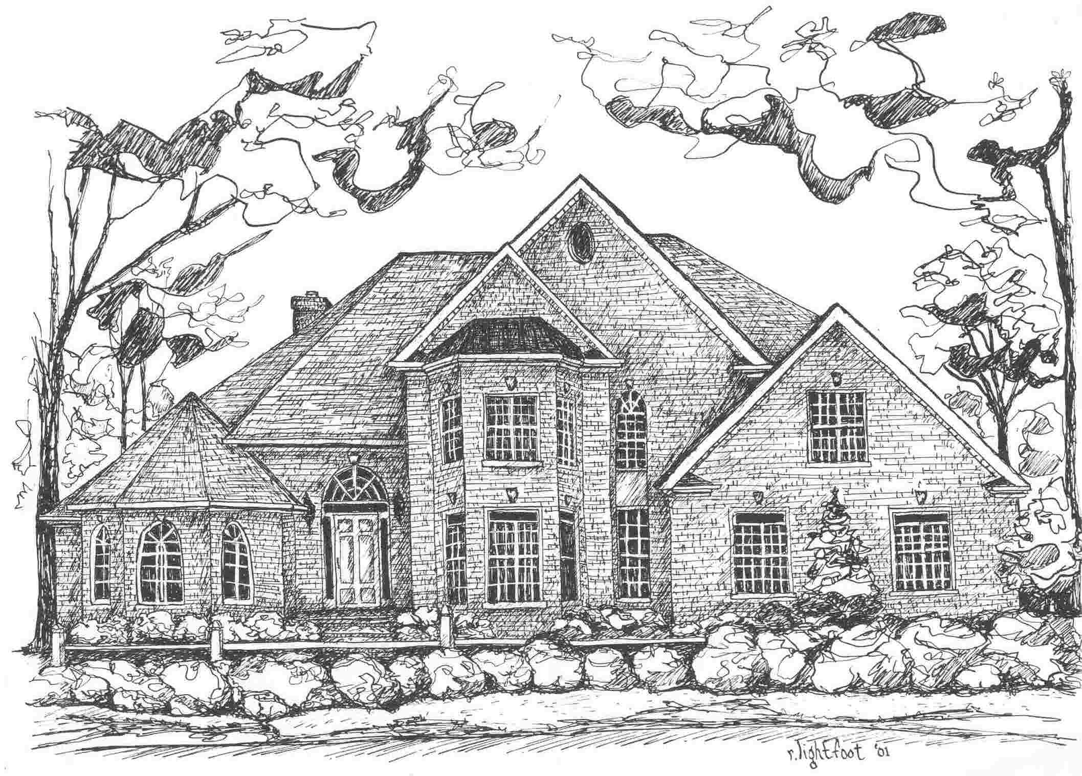 Draw House Jpeg Home Plans Blueprints 24430