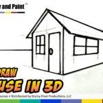 Draw House Kids Easy Things Youtube