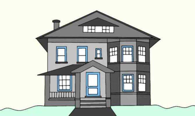 Draw House Step Beginners Youtube