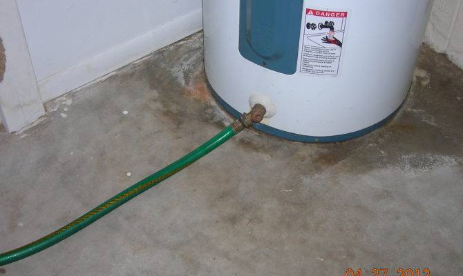 Dream Hot Water Heater Drain Pipe Home Building