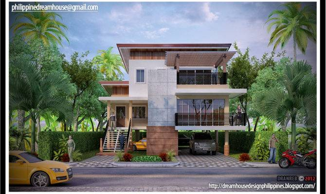 Dream House Design Philippine Flood Proof Elevated