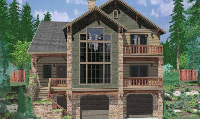 Dream Two Story Walkout Basement House Plans