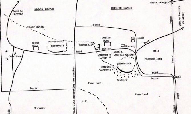 Drummond Ranch Pawhuska Oklahoma Map Pin