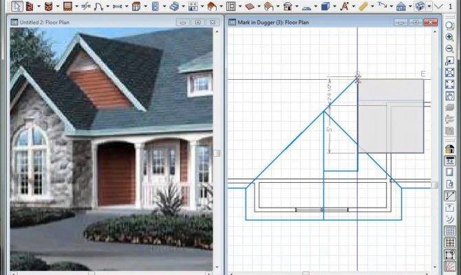 Dual Gable Roof Lines Using Chief Architect Doovi