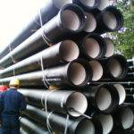 Ductile Iron Pipes Pipe Fittings Water Pipeline