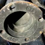 Ductile Iron Water Main Installed Emergency Basis