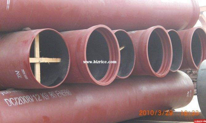 Ductile Iron Water Pipe China Pipes Sale