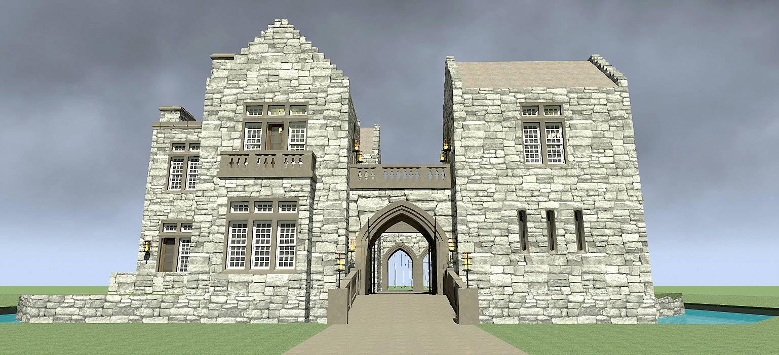 Duncan Castle Plan Tyree House Plans