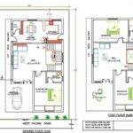 Duplex Floor Plan Yards Land Feet Buit Area