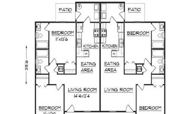Duplex Floor Plans Design Apartment