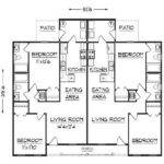 Duplex Floor Plans Design Bloombety