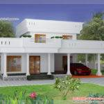 Duplex Home Elevation Kerala Design Floor