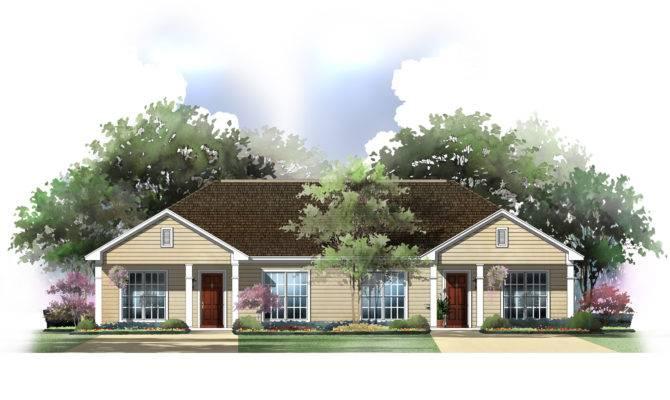 Duplex Home Plans Designs Homes Floor