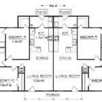 Duplex Home Plans Triplex House Coolhouseplans