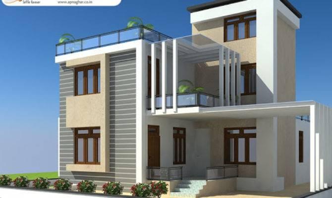 Duplex House Design Apnaghar