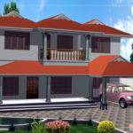 Duplex House Design Kerala Home Floor