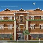 Duplex House Elevation Design Kerala Home Floor