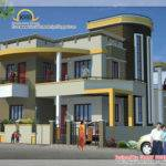 Duplex House Elevation Kerala Home Design Floor Plans
