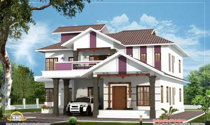 Duplex House Kerala Home Design Floor Plans