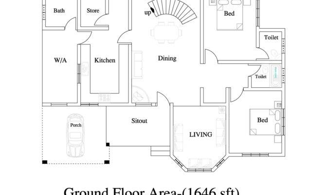 Duplex House Plan Plans Home Floor
