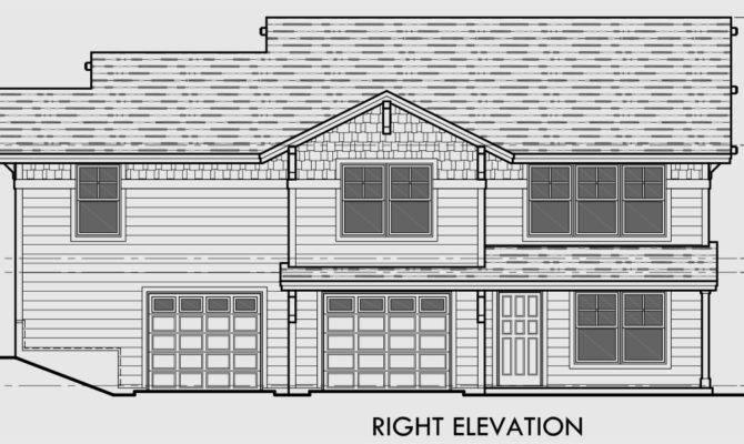 Duplex House Plans Corner Lot