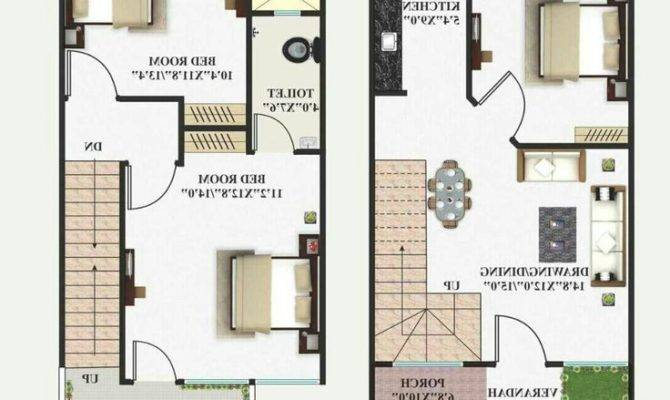 Duplex House Plans India Lovely Working