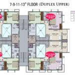 Duplex Plan Shalimar Heights Flats Mangalore Property