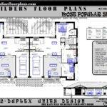 Duplex Units Floor Plans House Designs Bedroom Sale