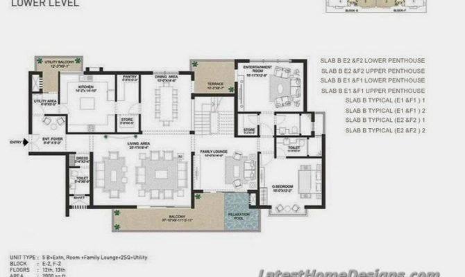 Duplext Penthouse Lower Square Feet Area Latest Home Designs