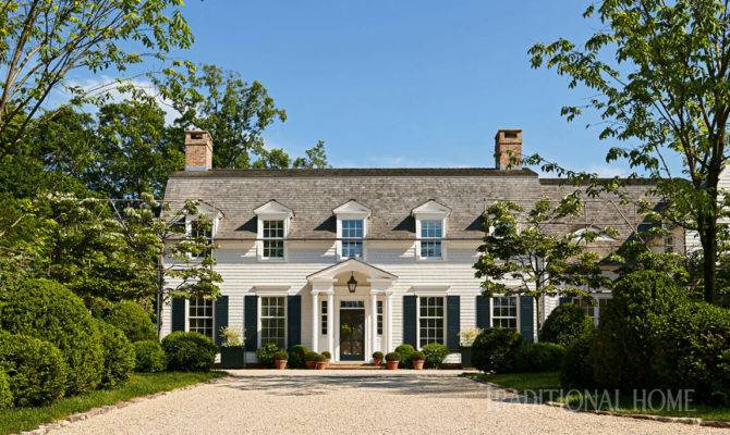 Dutch Colonial Home Rooted History Traditional