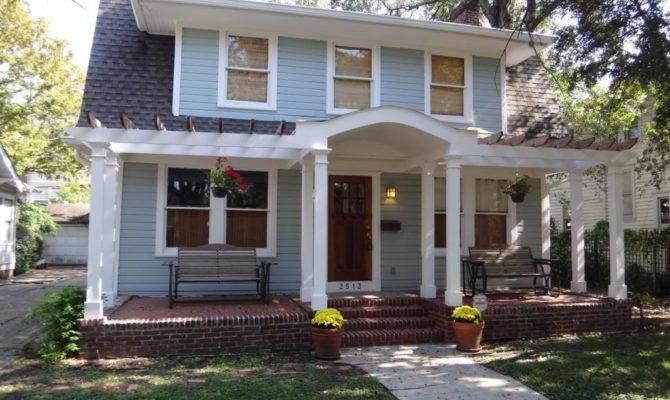 Dutch Colonial House Porch Charming Home Plans Blueprints 5680