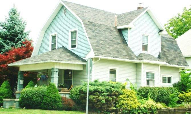 Dutch Colonial Revival Bungalow Marysville Ohio