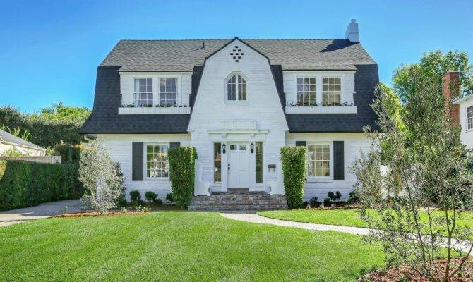 Dutch Colonial Roofs Revival Style Home