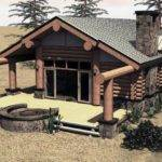 Eagle Nest One Bed Bath Small Log Cabin Just Under