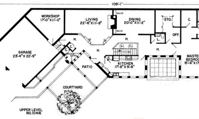 Earth Sheltered Home Plans Berm House