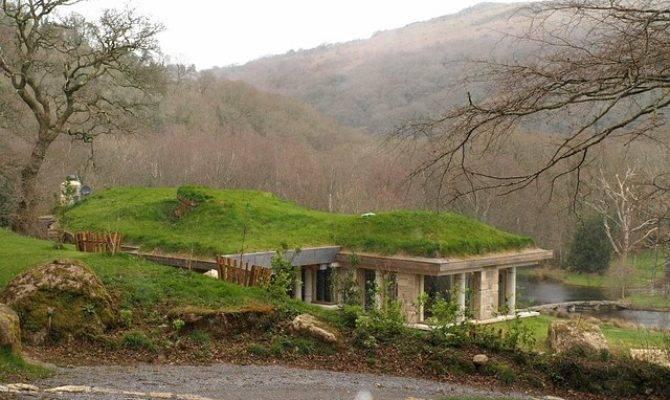Earth Sheltered Home Plans Modern Designs Lodges