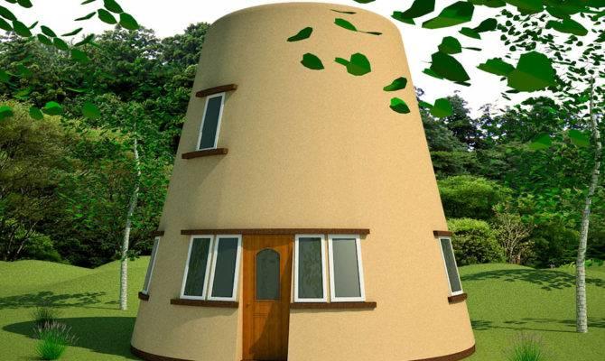 Earthbag Tower House Enlarge