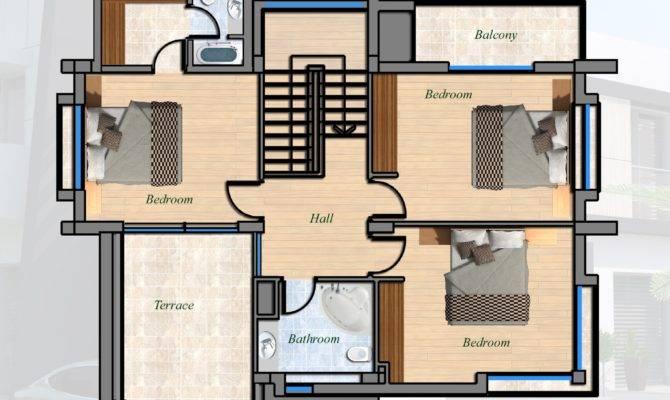East Coast Ultra Modern Villa Bed North Cyprus Property