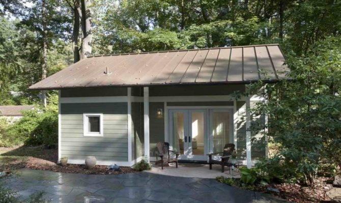Easy Build Cabin Plans Small Backyard