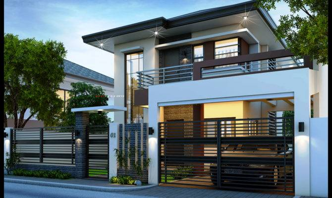 Easy Ideas Modern Storey House Designs