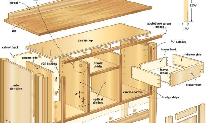 Easy Mission Sideboard Canadian Home Workshop