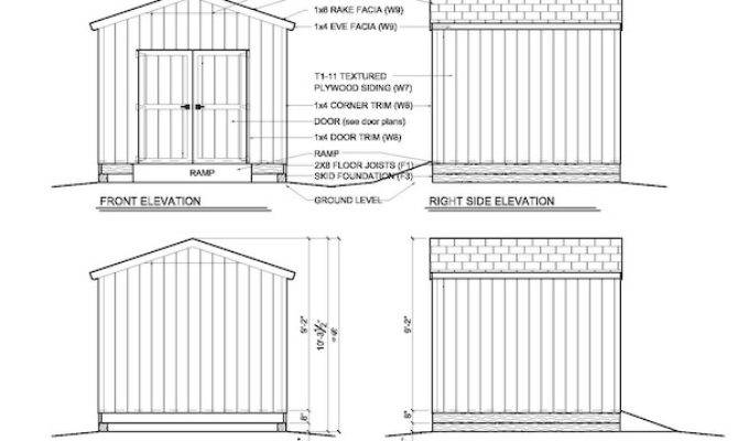 Easy Roof Pitch Shed Danny Plan