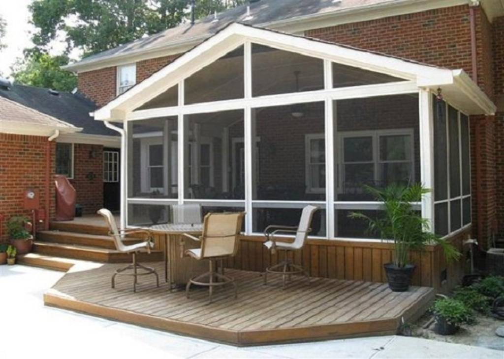 Easy Screened Porch Designs Simple Home Plans Blueprints 47507