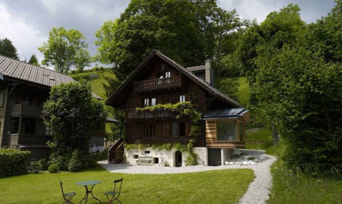 Easy Spot Upgrade Century Old Chalet Swiss
