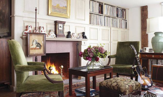 Eclectic Country House Vintage Collections Home Interior