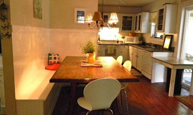 Eclectic Kitchen Booth