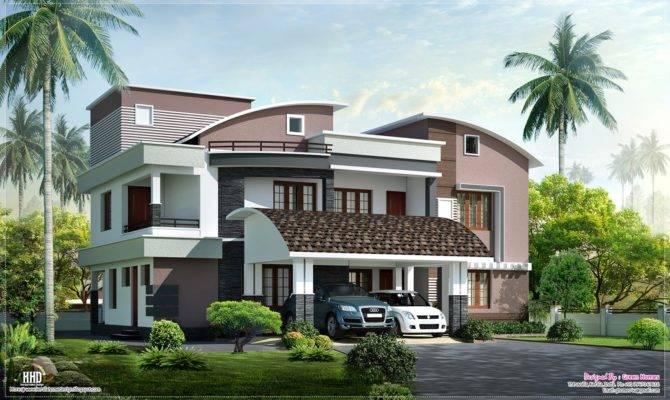 Eco Friendly Houses Modern Style Luxury Villa Exterior Design