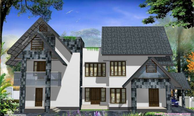 Eco Friendly Houses Western Style Home Design Kerala