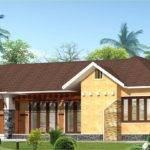Eco Friendly Single Floor Kerala Villa Home